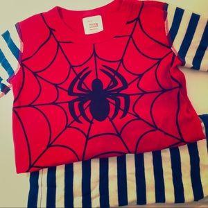 Hanna Andersson Spider Man Short Johns